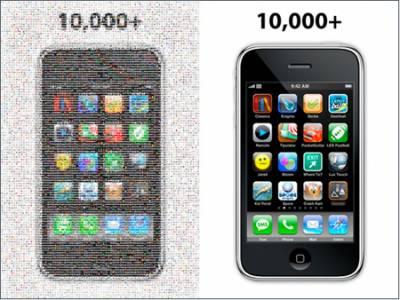 iPhone -10 000 приложений