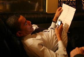 Обама сможет общаться через свой BlackBerry только с избранными