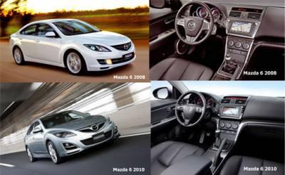 Mazda 6 2010: Face-lifting