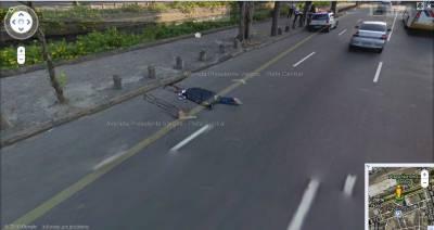 Google Street View сфотографировал трупы на улицах Бразилии