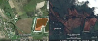 Google показал венгерский катастрофу на картах