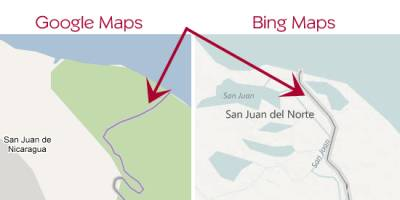 Ошибка на Google Maps привела к международному конфликту