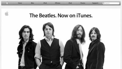 Apple получила Beatles
