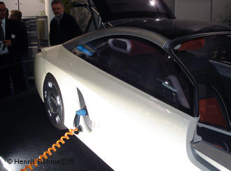 Электромобили - главный тренд Парижского автосалона