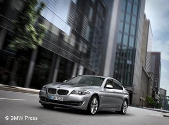 Любимая машина немцев - «пятерка» BMW