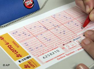Немецким безработным лучше не играть в лотерею