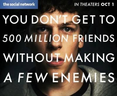 Социальная сеть получила 8 номинаций на Оскар