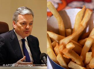 Студенты Бельгии призывают к революции картофеля фри