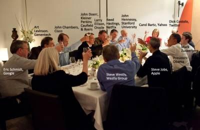 Барак Обама встретился с лидерами Кремниевой долины