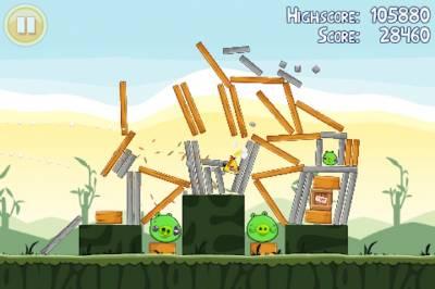 Angry Birds выйдет на Windows Phone 7