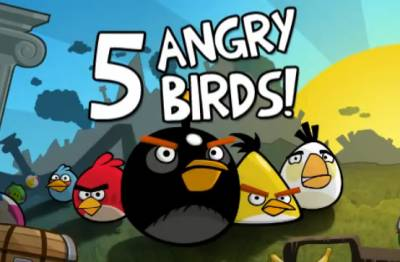 Angry Birds выйдет на Facebook