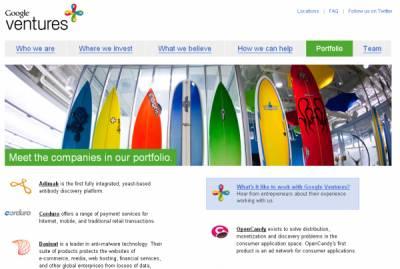 Google начал охоту на стартапы