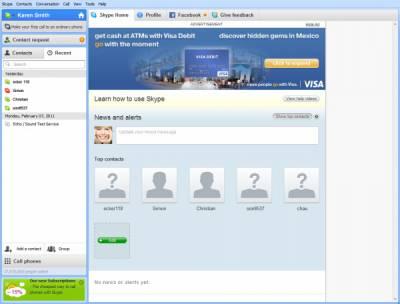 Skype включит рекламу для своих пользователей
