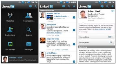 LinkedIn запустил Android-приложение