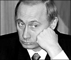 Путин и Lada Granta