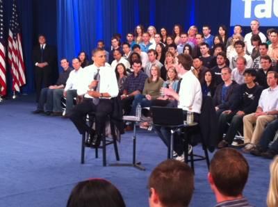 Обама заставил Цукерберга надеть галстук