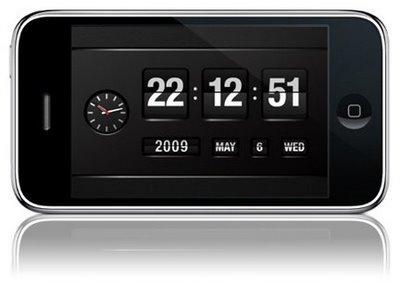 FlipTime- часы и календарь для iPhone