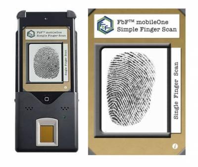 FbF MobileOne — сканер отпечатков пальцев из iPod Touch