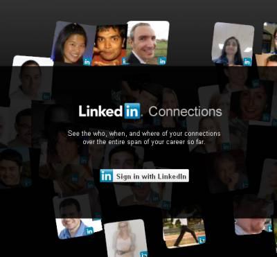 LinkedIn визуализировал жизненный путь пользователей