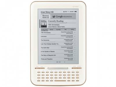 Google с iRiver выпустили конкурента Kindle..