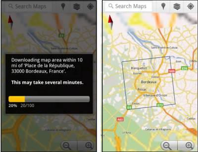 Мобильные Google Maps заработали в оффлайн-режиме