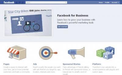 Facebook запустил раздел для бизнеса