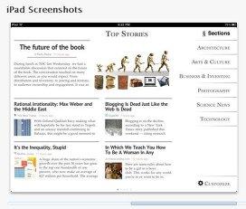 Apple Zite для iPad