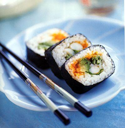 Приготовление риса для суши