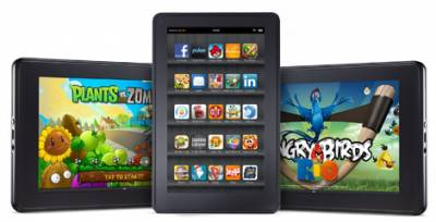 У Apple нет тревоги по поводу популярности Amazon Kindle Fire