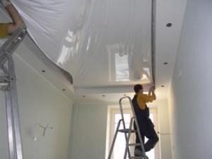 Реставрация и ремонт натяжных потолков