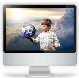 Прикоснись к виртуальному миру!