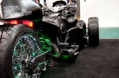 IPad в роли мотоцикла