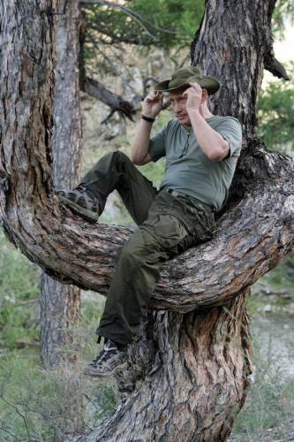 Отдых Путина в Туве