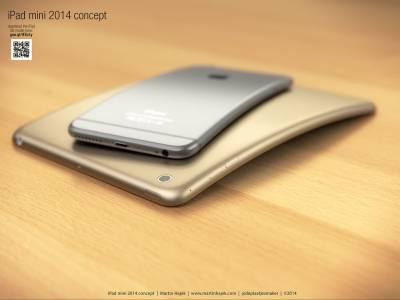 Концепт изогнутого iPad