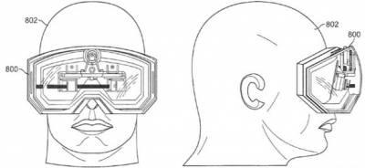 Apple получила патент на «носимый на голове дисплей»