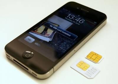 Сим карта для iPhone 5 и 4