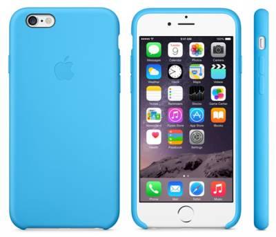 Чехлы для iPhone 6 - Apple выпустила кожаные и силиконовые кейсы