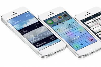 Система iOS 7 на iPhone 4