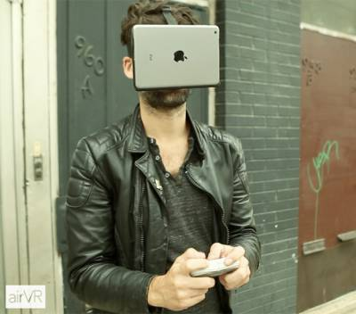 iPad mini превратили в шлем виртуальной реальности