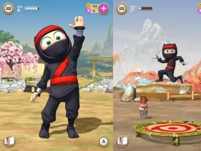 "Clumsy Ninja (""Неуклюжий ниндзя""): долгожданная iOS-игра"