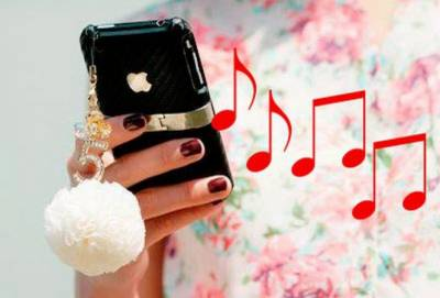 Как поставить музыку на звонок iPhone?