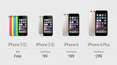 Цена на новые iPhone