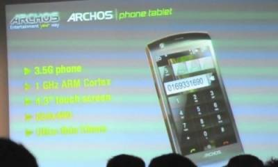 Новые смартфоны и кпк - Archos
