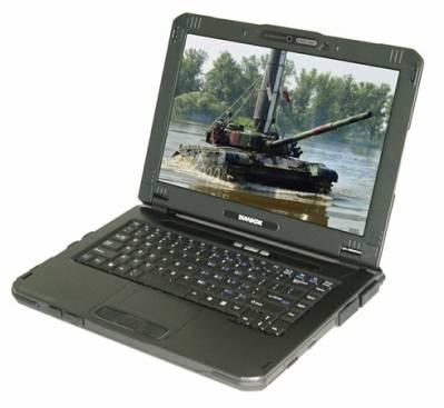DURABOOK U14M - прочный ноутбук с портом RS-232