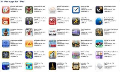 Приложения для iPad доступны для загрузки
