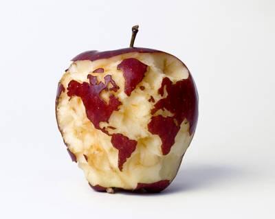 Apple глобус