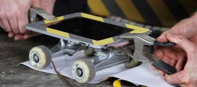 iPad вместо скейтборда