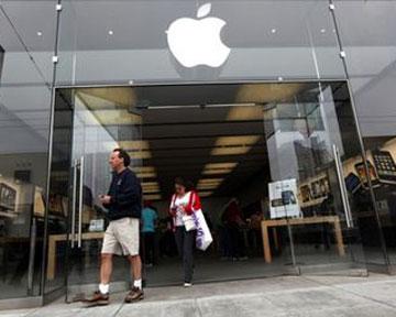 Чистая прибыль Apple выросла на 44%