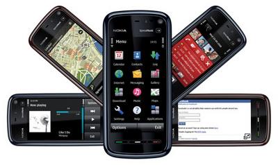 Nokia 5800 XpressMusic Black HSDPA GPS WLAN