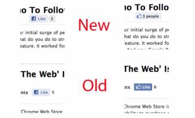 Новая кнопка для Facebook